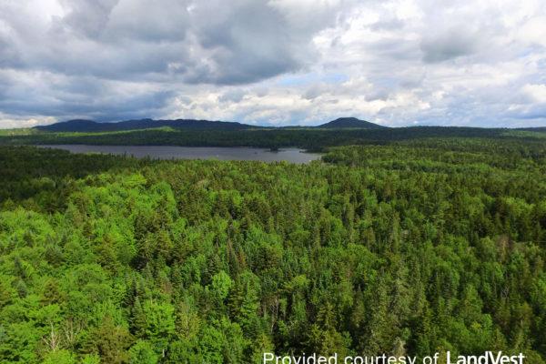 Pickett Mountain aerial view